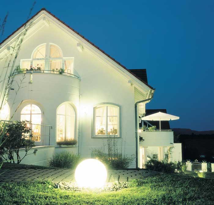 kugelleuchte moonlight 75 zum anschrauben mit. Black Bedroom Furniture Sets. Home Design Ideas