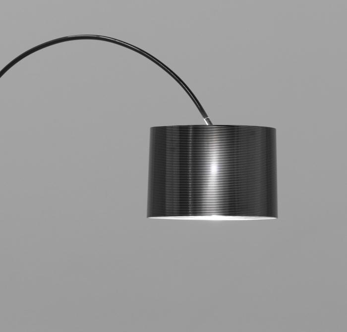 ROXX in schwarz, Bogenleuchte - Bogenlampe